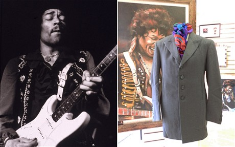 JIMI HENDRIX COAT UP FOR GRABS!