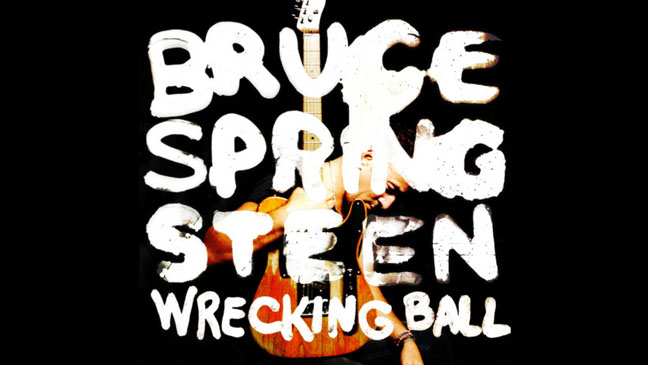 """Bruce Sprinsteen's """"Wrecking Ball"""" debuts at #1 on the UK album charts!"""