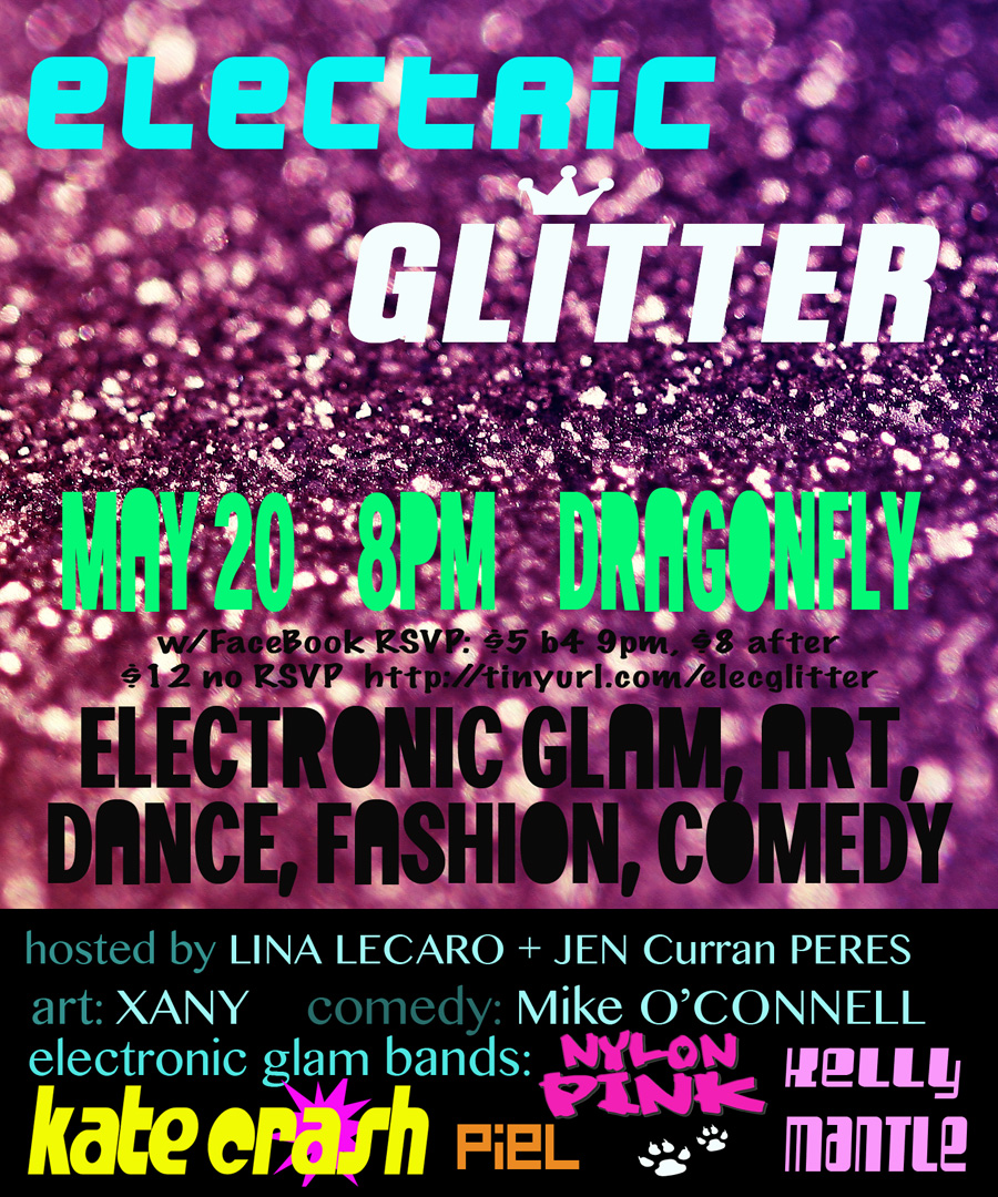 ELECTRIC GLITTER  The Electronic Glam DANCE Party!