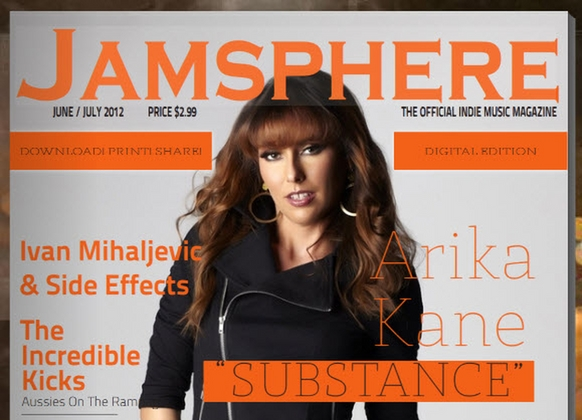 The First Edition Of The Jamsphere Downloadable Flash Magazine is On Sale Now!