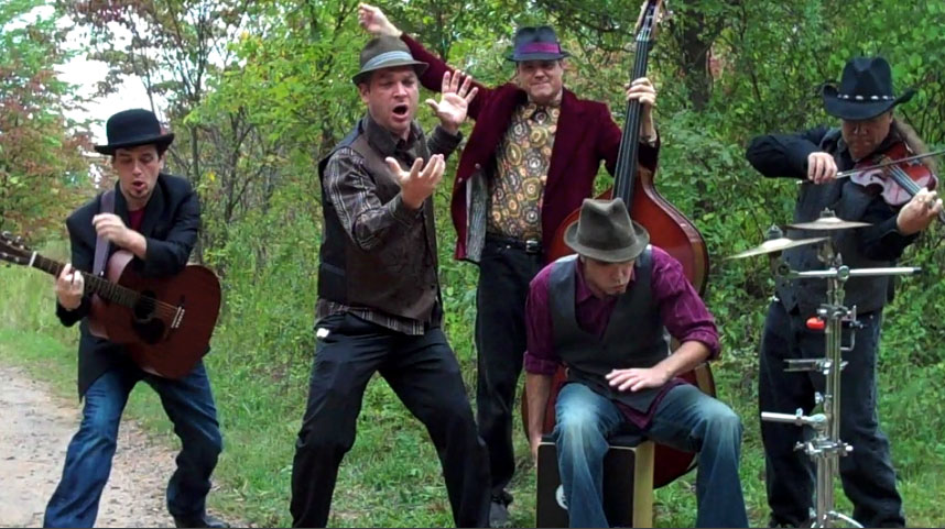 """THE WANDERING BARDS: """"Party Hat""""  A Unique Blend Of Americana-Gypsy Funk"""