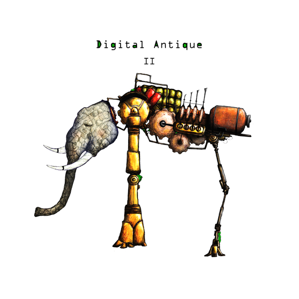 "DIGITAL ANTIQUE: ""II"" An Organic Post-Rock Treasure"