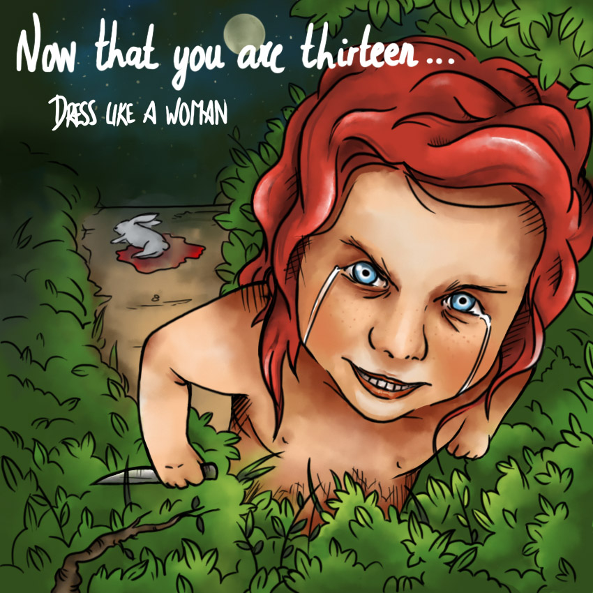 "DRESS LIKE A WOMAN: ""Now That You Are Thirteen"" For Alternative Rockers"