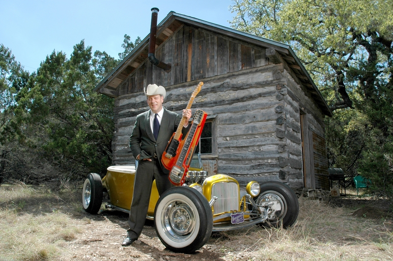 "JUNIOR BROWN: The Guit-Steel Legend, Releases His ""VOLUME TEN"" Album!"
