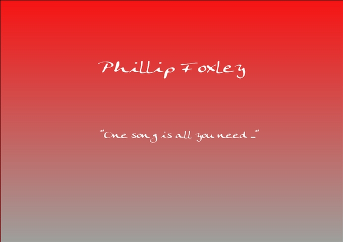 Phillip Foxley: Expressive And Rawboned Electric Blues!
