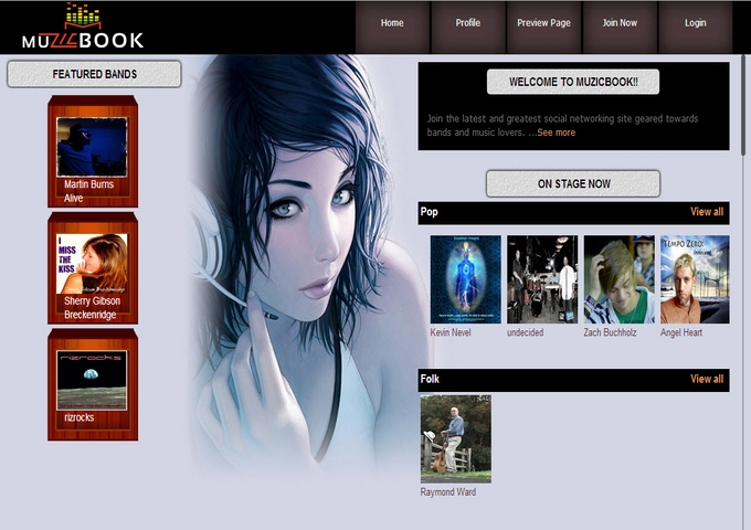 Social Networking for Musicians: MuzicBook.com Launches Brand New and Innovative WebSite