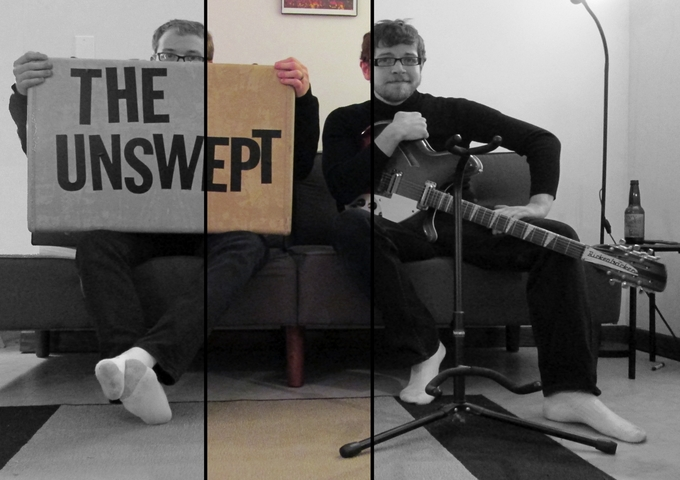 "The Unswept: ""Surf Song"" 60's Styled Jangle-Pop!"