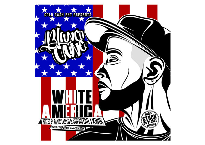 CHICAGO'S BLANCO CAINE STIRS THE POT WITH 'WHITE AMERICA' PROJECT