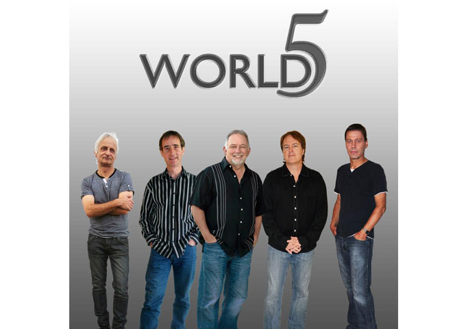 "Supergroup WORLD5, Set To Release ""Maybe There's A Way"" On June 18"
