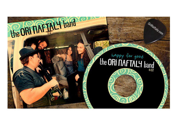 """ORI NAFTALY BAND Release """"Happy For Good"""" Single From Upcoming Album!"""