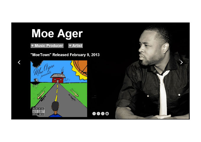 "Maurice 'Moe' Ager: ""Moe Town"" Super Slick And Glossy Hiphop!"