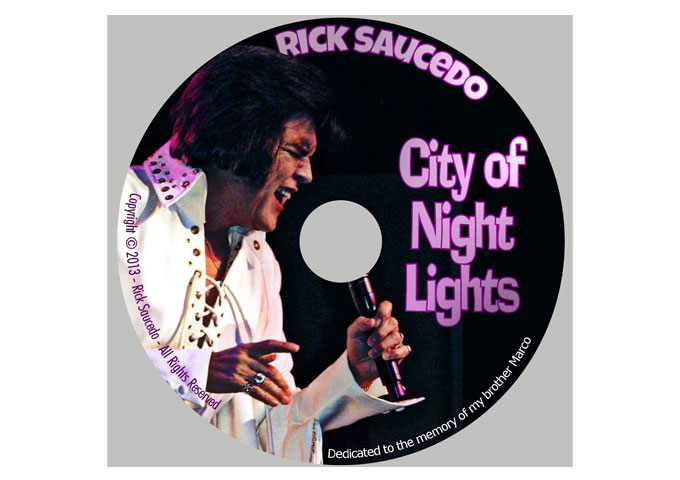 "RICK SAUCEDO: ""City of Night Lights"" Should Be On The Shelf Of Every Hardcore Rockabilly Fan!"