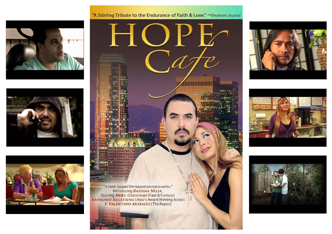 "Radhaa Nilia Productions Presents ""Hope Cafe"" At Indie Fest In Garden Grove, California"