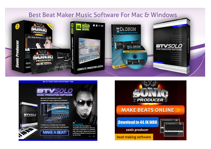 Best BEAT MAKER SOFTWARE on the Market. Turn your PC or MAC into a PROFESSIONAL STUDIO!