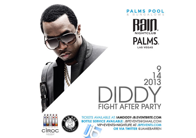 Diddy Hosts Mayweather Vs Canelo Post-Fight Party at Palms Casino Resort Las Vegas