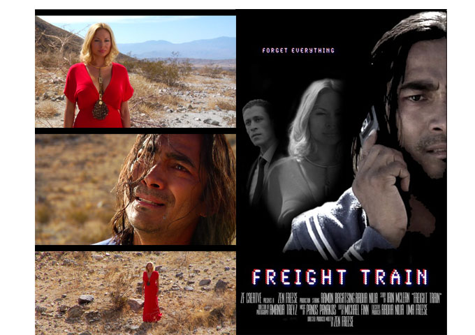 "Radhaa Nilia Productions Worldwide Premiere for ""Freight Train"" at Indie Fest International Film"
