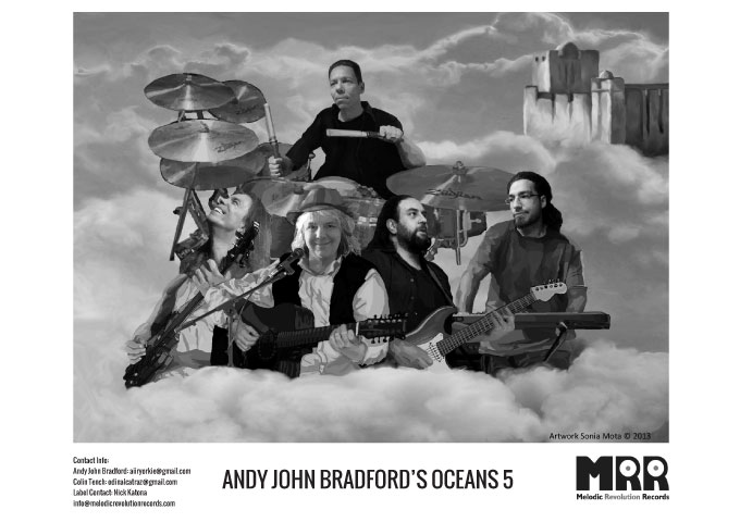 "Andy John Bradford's Oceans 5: ""Return to Mingulay"" Gorgeous Melodies and Fabulous Musicianship"