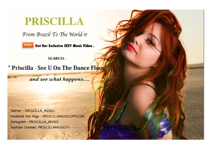 Singer-songwriter Priscilla, Makes US Debut with 'See U on the Dance Floor'!