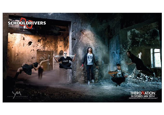 """Schooldrivers: """"Theronation"""" – Rock Energy, Attitude and Passion!"""