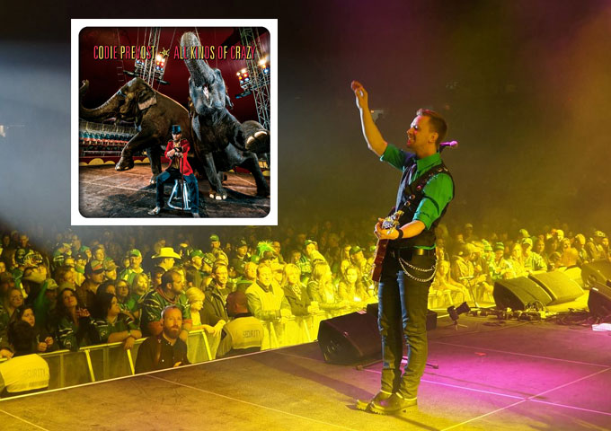 "Codie Prevost: ""All Kinds of Crazy"" – Well-rounded, Flawless and Captivating Country!"