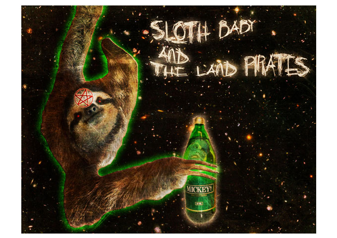 Sloth Baby & the Land Pirates Stretch The Boundaries of Rock!