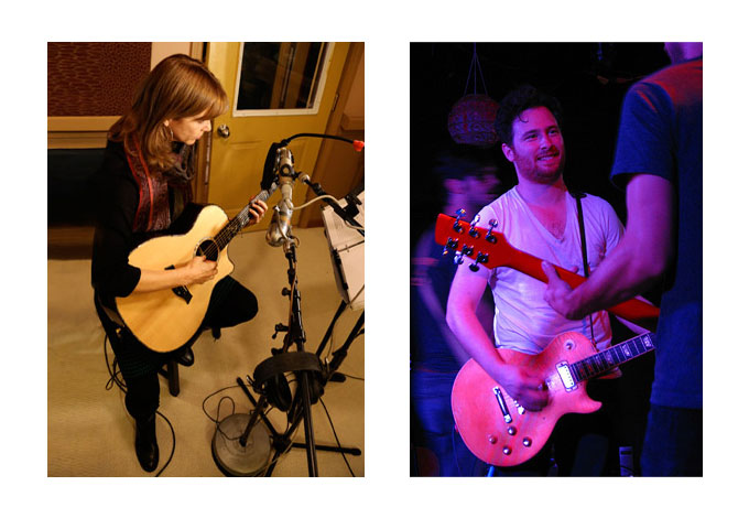 Events: Carrie Newcomer and Alex Dezen of The Damnwells
