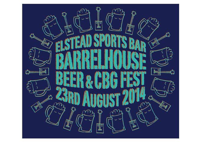 "UK Cigar Box Guitar Events: ""Elstead Barrelhouse Beer & CBG Festival"" 23rd August 2014"