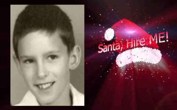 "ANDY RAWN: ""SANTA, HIRE ME !"" -Anticipating Xmas with a Song for all Ages!"