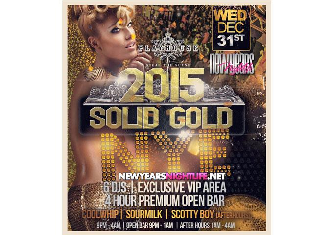 Solid Gold NYE 2015 at Playhouse Hollywood