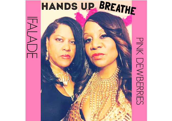 "Ocean Bleu and Pink Dewberries: ""Hands Up Breathe"" – a message of enlightenment"