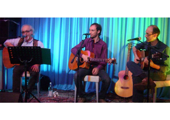 """The Beatles Acoustic Trio: """"Come Together"""" – a creative blending of harmonies and 3 acoustic guitars"""