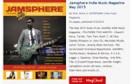 Jamsphere Indie Music Magazine May 2015