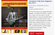 Jamsphere Indie Music Magazine May 2015