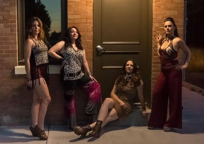 All Female Sax Quartet – The Quadraphonnes 'Get the Funk Out!' on Latest Album