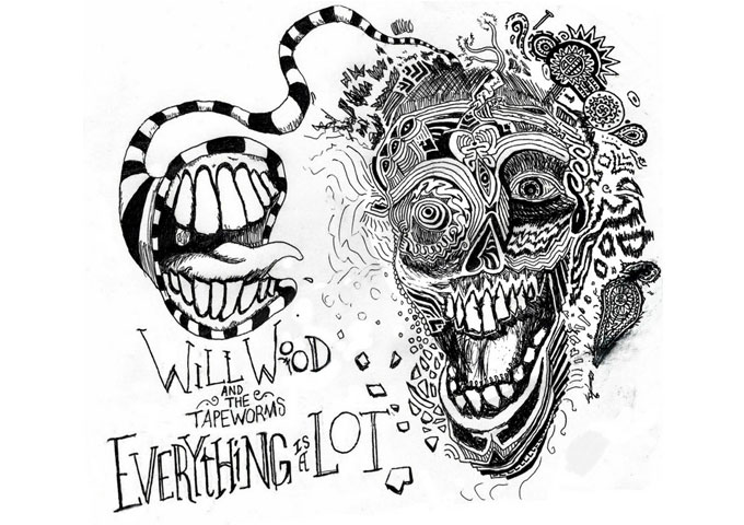"Will Wood and the Tapeworms: ""Everything is a Lot"" may just be too much for you!"