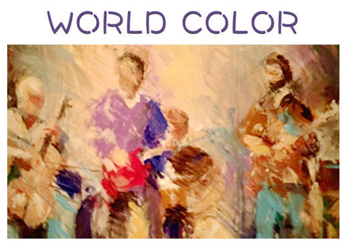 World Color will blindside the unsuspecting with rich melodies and harmonies!