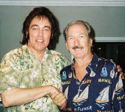 Donny Richmond and Rock'n'Roll Hall of Fame Guitarist (for Elvis & others) James Burton
