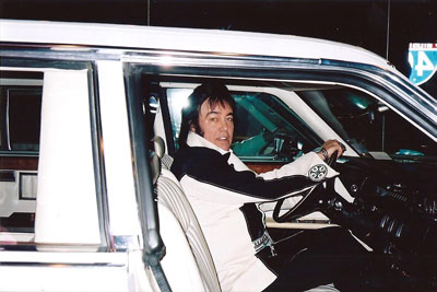 Donny Richmond in the original Elvis automobile!