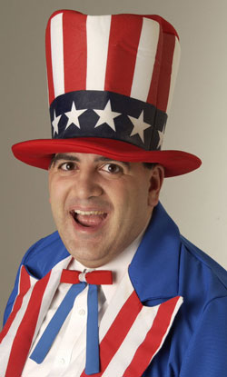 Joe Melillo as Uncle Sam