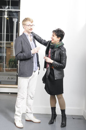 Haraldur Agustsson and Semeli Economou