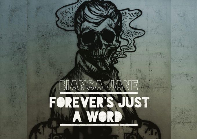 "Bianca Jane featuring Thomas Wilson: ""Forever's Just A Word"" – incendiary guitar lines and a soaring melody!"