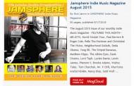 Jamsphere Indie Music Magazine August 2015