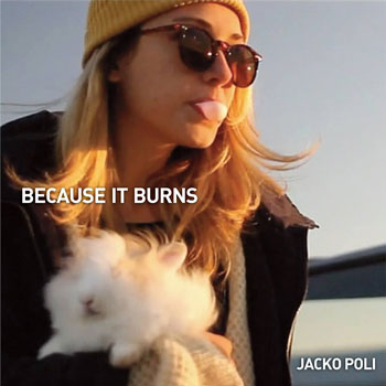 "The lead single cover - ""Because It Burns"""