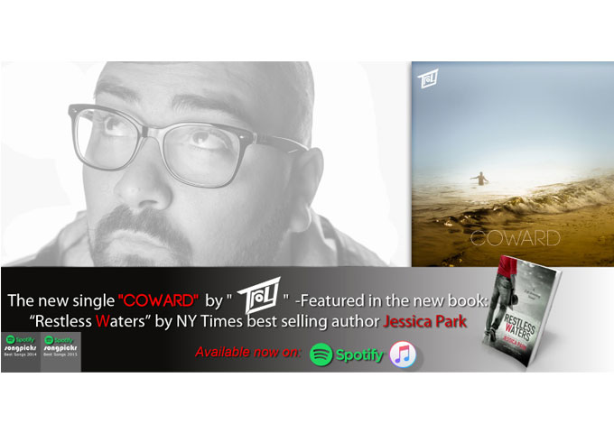 """Troy releases """"Coward"""" for NY Times bestselling author, Jessica Park"""