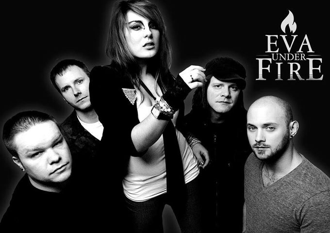 "Eva Under Fire: ""Betrayer"" – an alluring rock vixen and a mind-blowing band!"