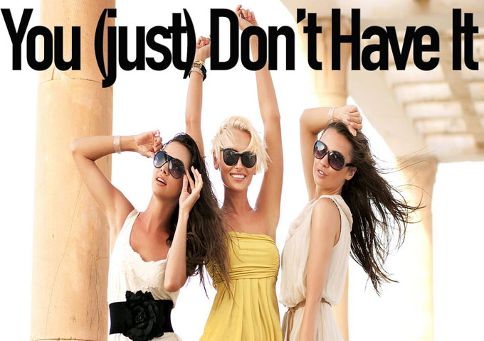 """Sarantos: """"You (just) Don't Have It"""" – the art of being true to yourself!"""