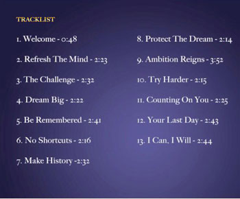 The tracklist