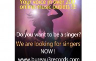 Bureau 3 Records: New International Format to Find Singing Talent!