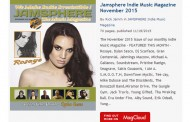 Jamsphere Indie Music Magazine November 2015