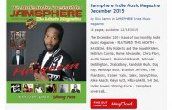 Jamsphere Indie Music Magazine December 2015